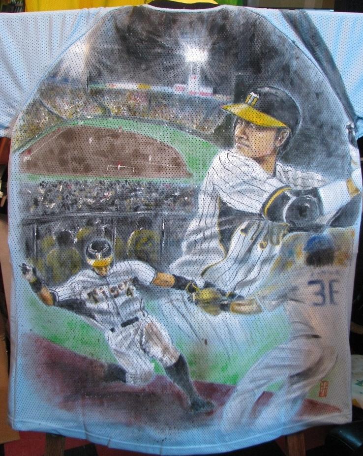 阪神タイガース 手描きユニフォーム 選手
