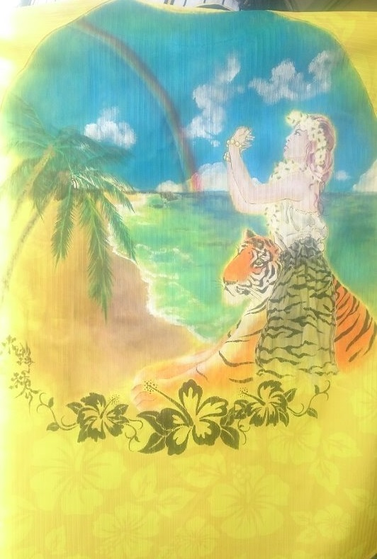 阪神タイガース 手描きユニフォーム ハワイアン