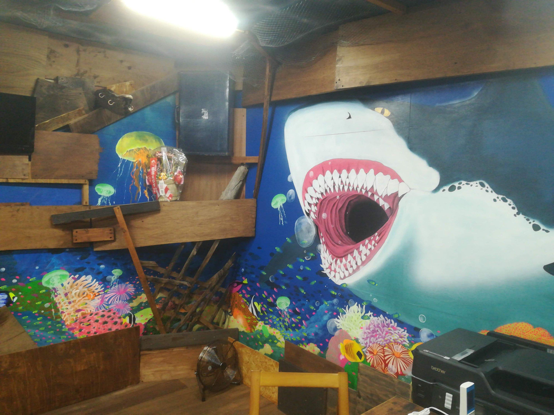 壁画・内装 海賊船